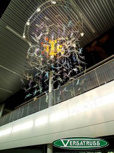 Decorative aluminum truss