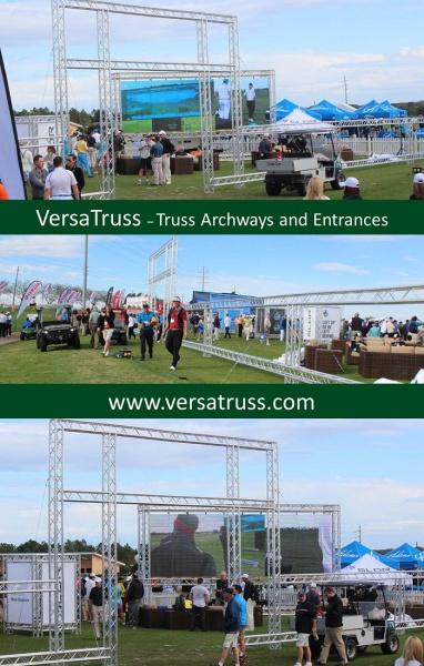 VersaTruss Truss Archways Entrances
