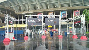 Aluminum Truss Entrances Banner