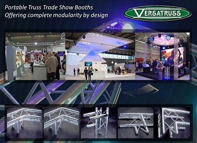 Portable Truss Trade Show Booths Modular