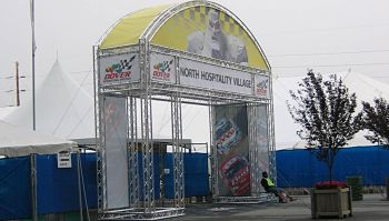 Security Truss Archway Entrance Aluminum Truss