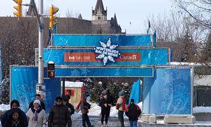 Truss Entrance Archway Versa Truss Winterlude