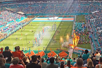 NFL Football-Stadium-Playing-Field-Estrances