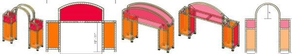 Curved-Exhibit-Truss