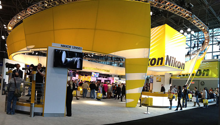 Nikon booth at PhotPlus-PDN expo