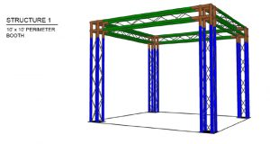 Aluminum Exhibit Truss System