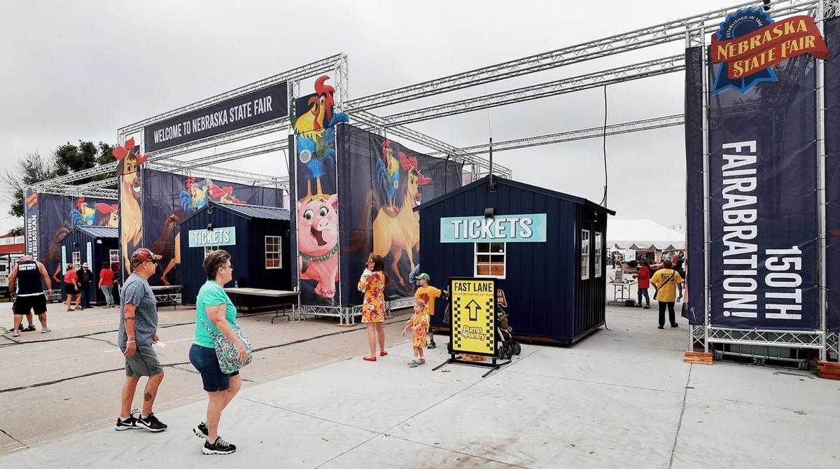 Nebraska State Fair Entracneway